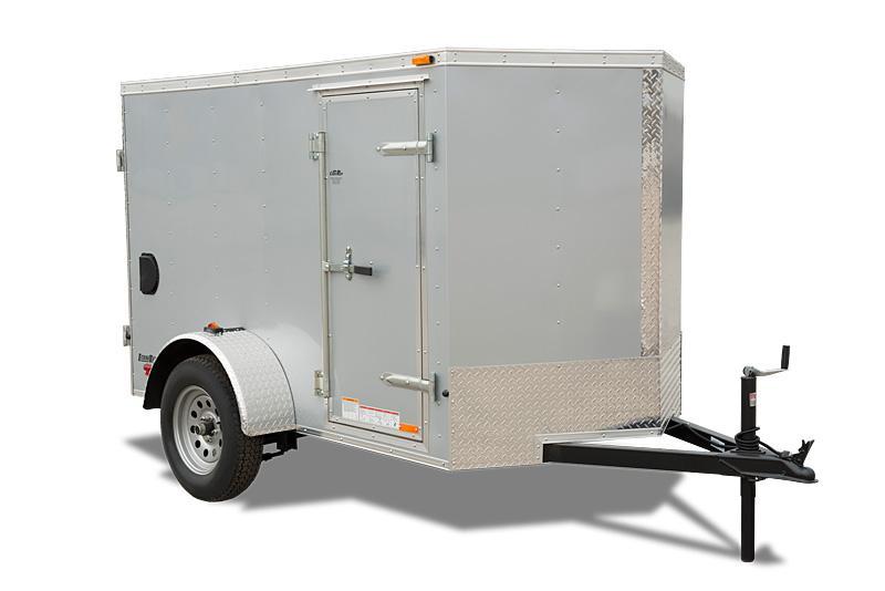 2021 Cargo Mate 5 x 10 Enclosed Cargo Trailer 3K Ramp