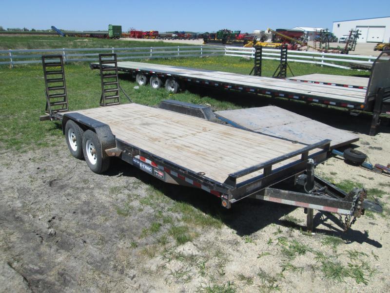 2015 Sure-Trac 7 X 20 Equipment Trailer
