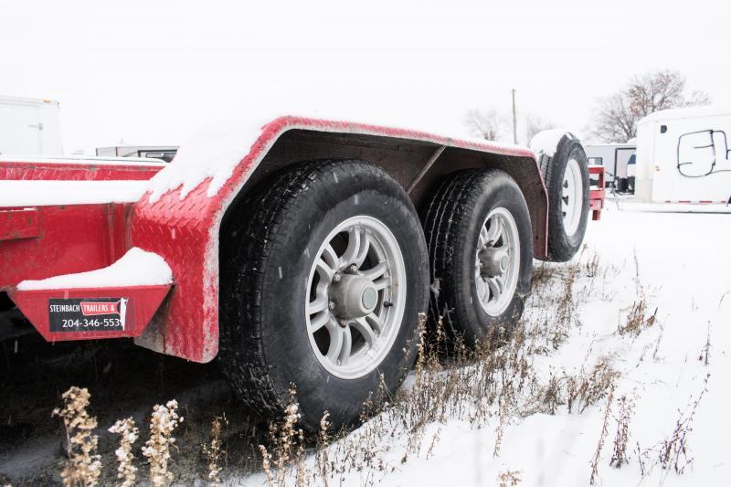 2015 Sure-Trac 7 X 18 10K C-Channel Car Hauler Car / Racing Trailer