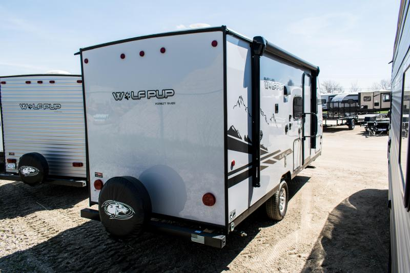 2020 Wolf Pup Black Label 18TO Travel Trailer with Slide-Out