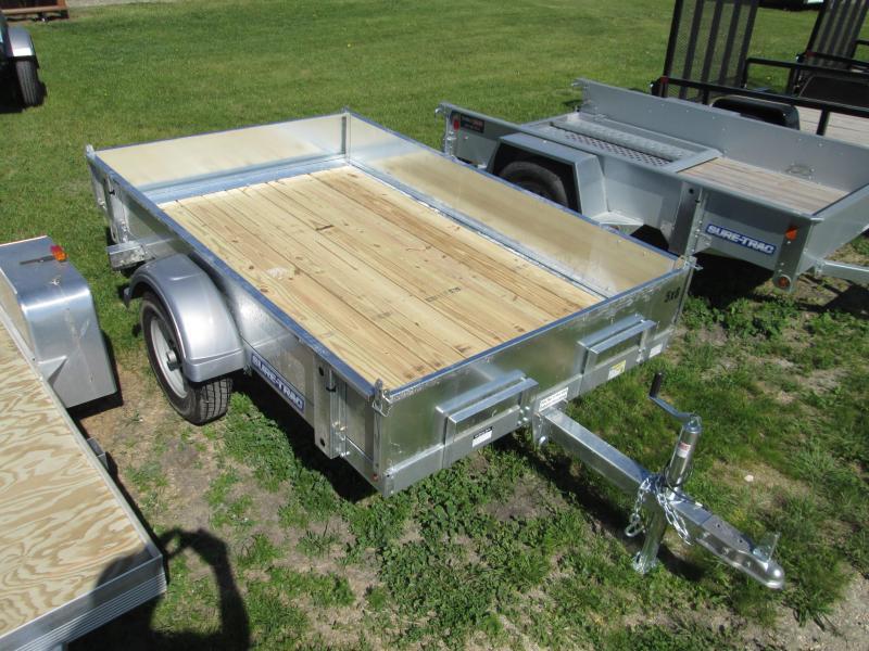 2018 Sure-Trac 5 x 8 Galvanized Tilt Bed 2k Utility Trailer