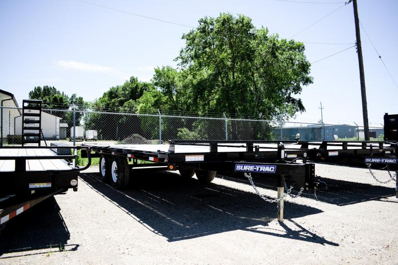 2016 Sure-Trac Low Profile Flatbed Deckover 8.5' x 18'