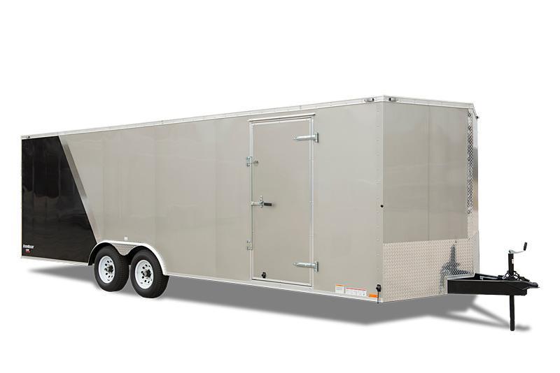2020 Cargo Mate 8.5 x 24 Enclosed Cargo Trailer 10K Ramp Custom