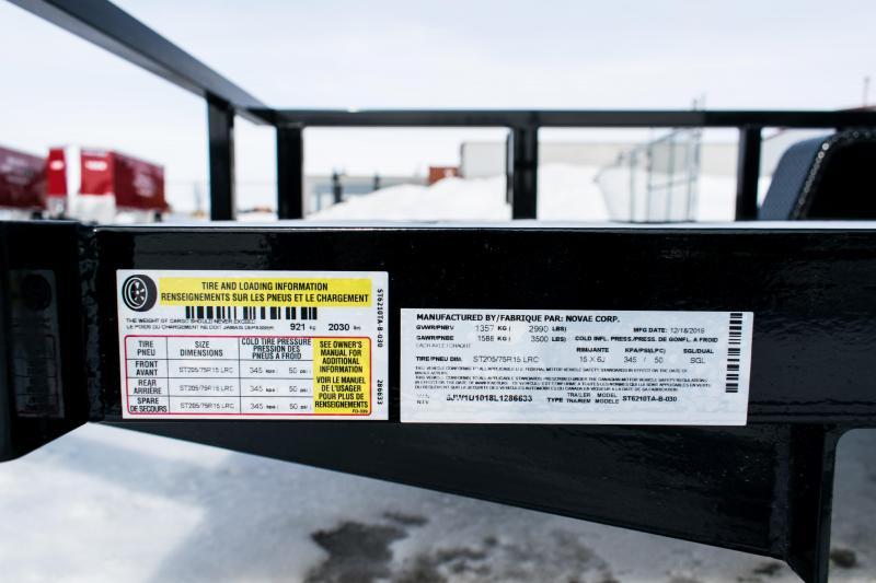 2020 Sure-Trac 5 X 10 Tube Top Utility  3K Idler
