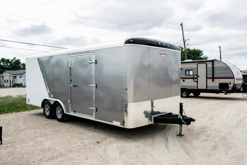 2019 Cargo Mate 8 X 20 Enclosed Cargo Trailer 10K