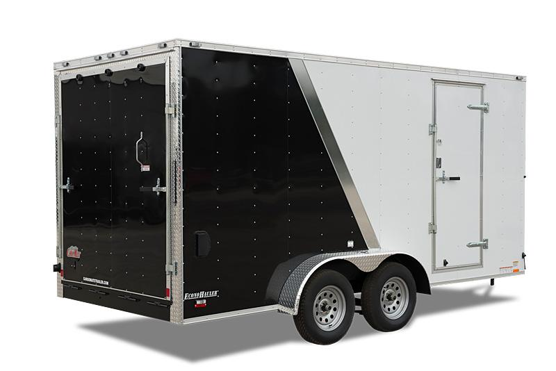 2021 Cargo Mate 7 x 14 Enclosed Cargo Trailer 7k Barn