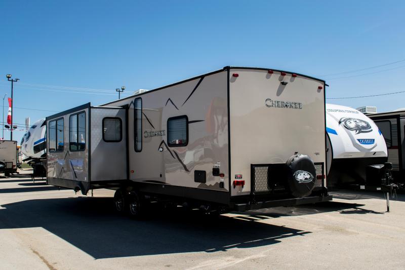 2019 Cherokee Limited 274VFK Travel Trailer V-Nose Front Kitchen Couples Model