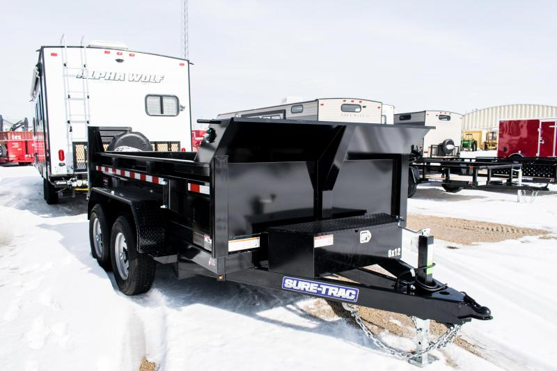 2020 Sure-Trac 6 x 10 LProfile 10K Single Ram Dump