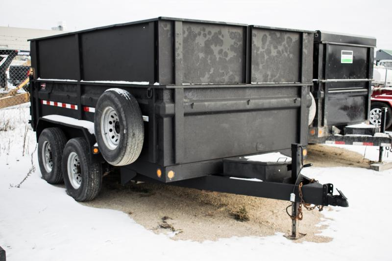 2012 Load Trail 7 x 12 Dump Trailer 4' High Sides 14K