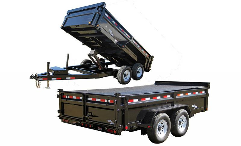 2012 Load Trail 7 x 12 Dump Trailer 4