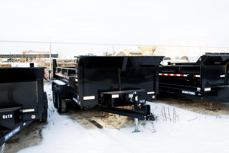 2020 Sure-Trac 7 X 12 LProfile 12K Dual Ram Dump