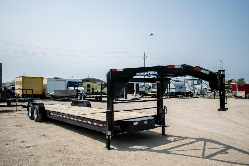 2019 Sure-Trac 7 X 22+6 Gooseneck Tilt Bed Equipment  14K