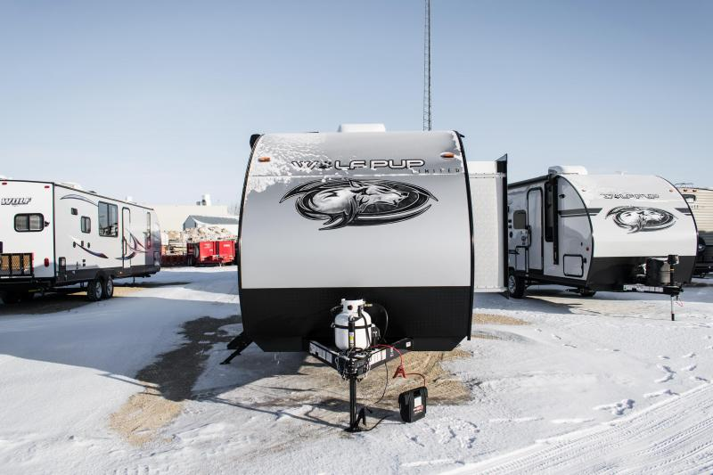 2020 Wolf Pup Limited 17JG Travel Trailer w/Slide-out and Bunks