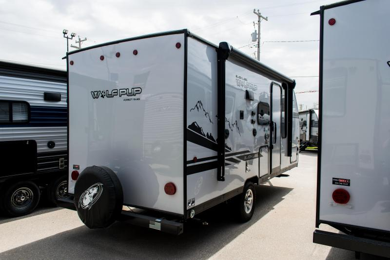 2020 Wolf Pup Black Label 16PF Travel Trailer W/Slide-out