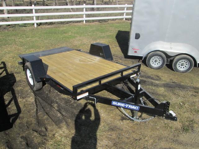 2017 Sure-Trac Tilt Bed Equipment Trailer 6.5'X12' Tilt Deck