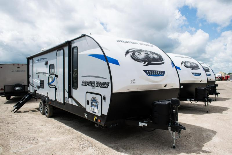 2020 Alpha Wolf Limited 26DBH-L Travel Trailer