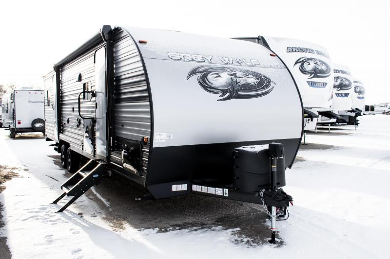 2020 Grey Wolf Limited 27RR Toy Hauler/Travel Trailer
