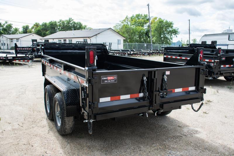 2020 Sure-Trac 6 X 12 LProfile 10K Single Ram Dump