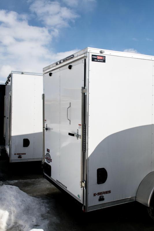 2019 Cargo Mate 6x12 Enclosed Cargo Trailer 3K Ramp