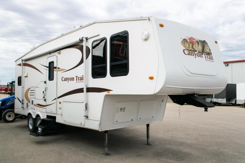 2008 Gulfstream Canyon Trail 5th Wheel Camper Trailer
