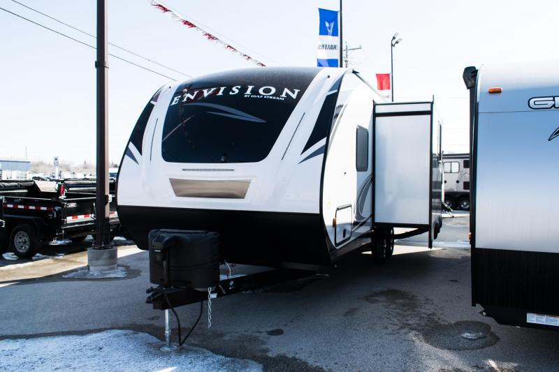 2021 Gulf Stream Envision 220RB Couples Model Travel Trailer RV