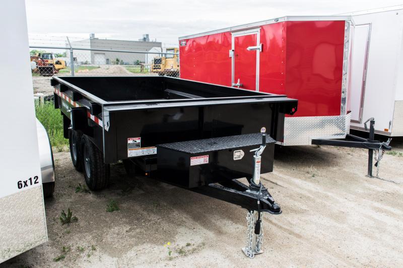 2019 Sure-Trac 6 X 10 Deckover Dump 10K Single Ram