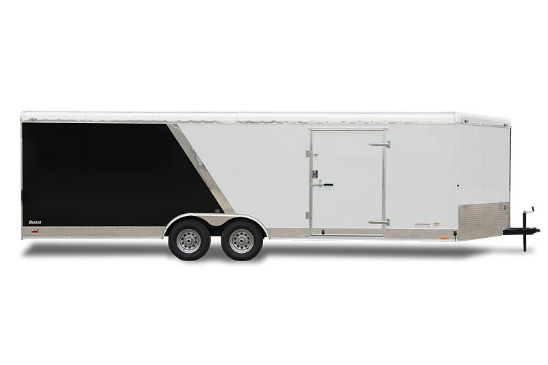 2020 Cargo Mate 8 x 16 Custom Contractor Enclosed Cargo Trailer 10K Barn