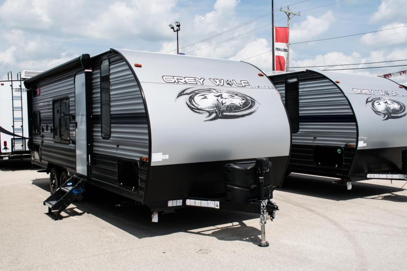 2020 Grey Wolf Limited 22MKSE Travel Trailer with Bunks