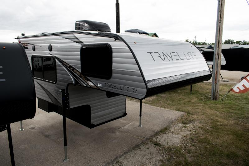 2020 Travel Lite 800X Extended Stay Series Truck Bed Camper