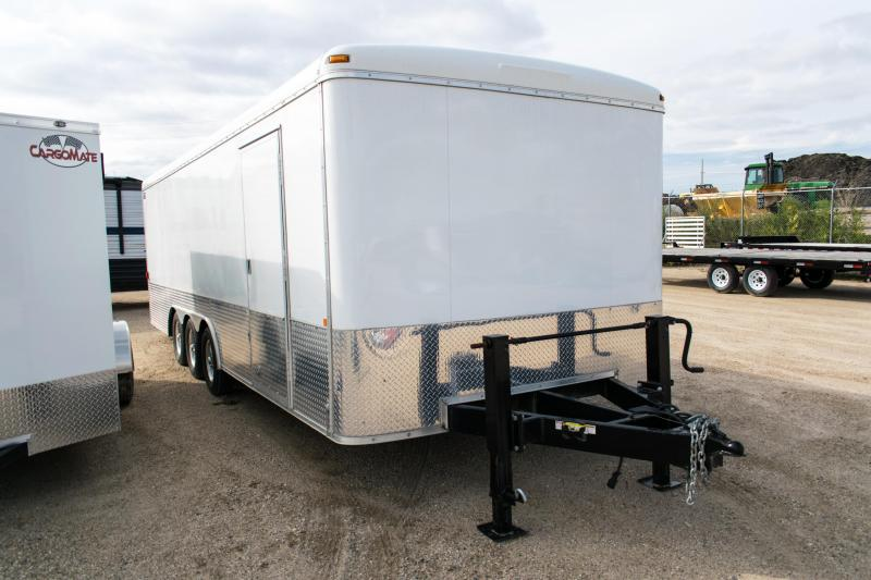 2013 Sure-Trac 8.5X24 Triple Axle Enclosed Cargo Trailer 10.5K Ramp