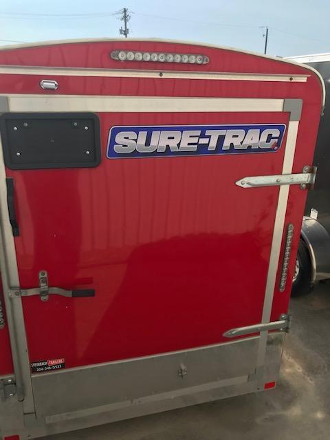 2015 Sure-Trac 5 x 10 V-Nose Enclosed Cargo Trailer 3K Barn