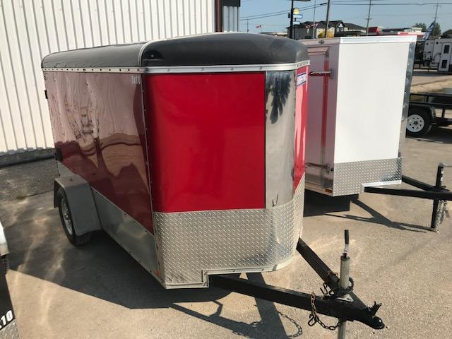 2015 Sure-Trac 5 x 10 V-Nose Enclosed Cargo Trailer 3K Barn