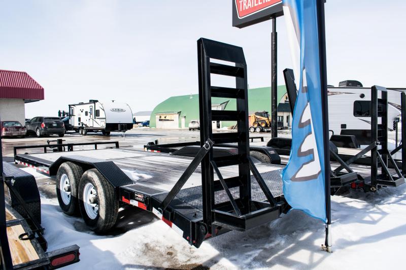 2020 Sure-Trac 7 X 20 14K Skid Steer Equipment Trailer