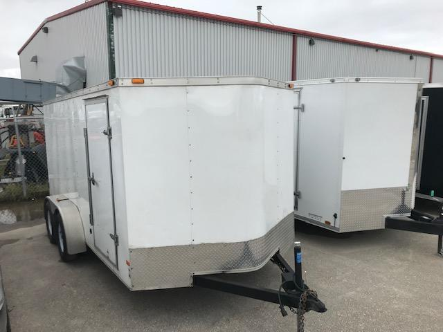 2014 Cargo Mate 7 X 14 Enclosed Cargo Trailer 7K Barn
