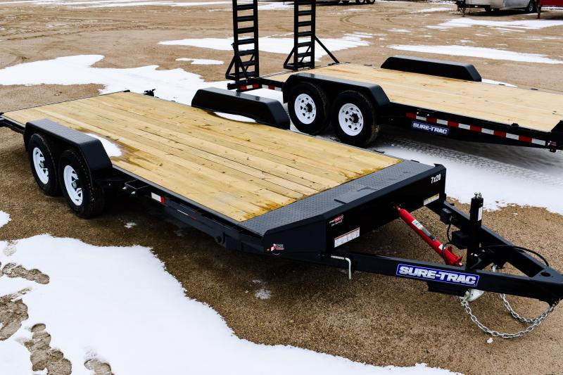 2018 Sure-Trac 7 x 20 Tilt Bed Car Hauler 10k