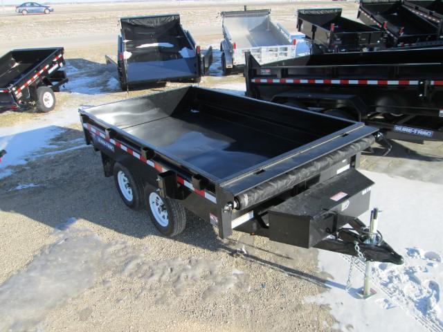 2017 Sure-Trac Deckover Dump Trailer 6X10 7k