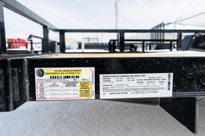 2020 Sure-Trac 6 X 12 Tube Top Utility  3K idler
