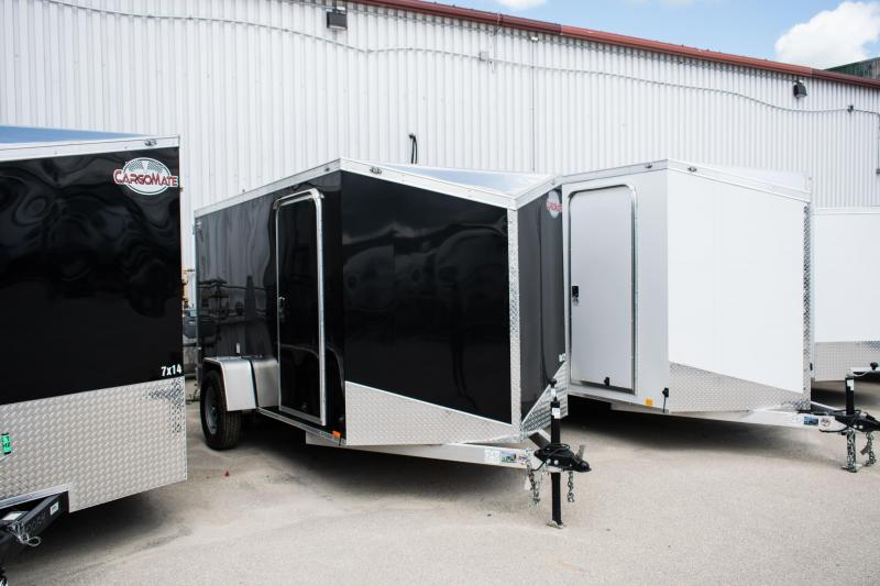 2019 Cargo Mate 6 x 12 Aluminium Enclosed Cargo Trailer