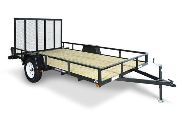 2019 Sure-Trac 5 x 10 Angle Iron Utility Trailer 3K