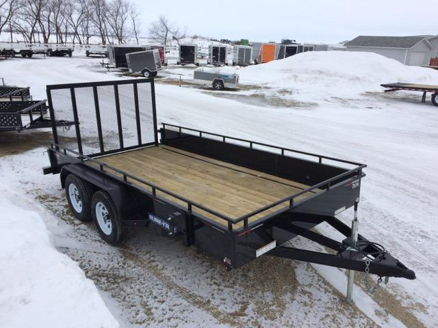 2017 Sure-Trac Steel High Side Utility Trailer