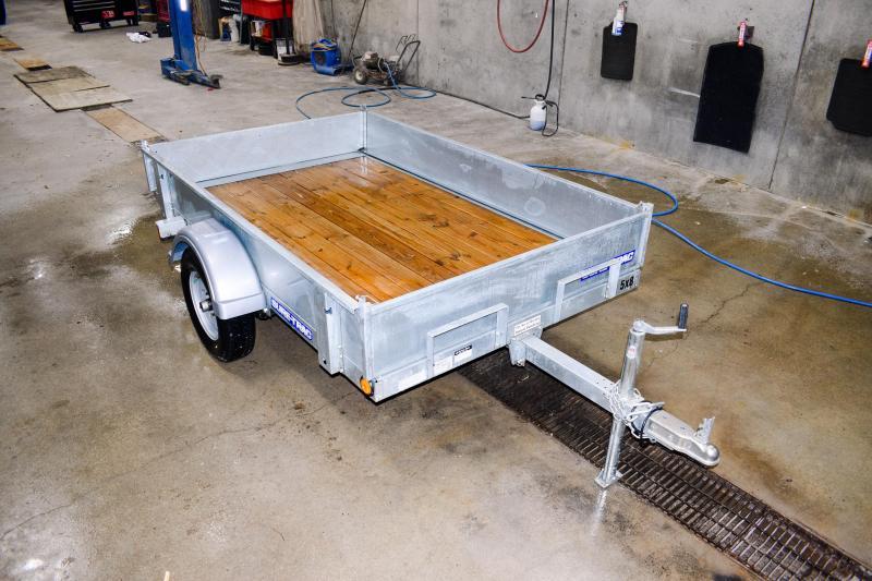 2017 Sure-Trac 5X8 Galvanized Tilt Deck Utility Trailer