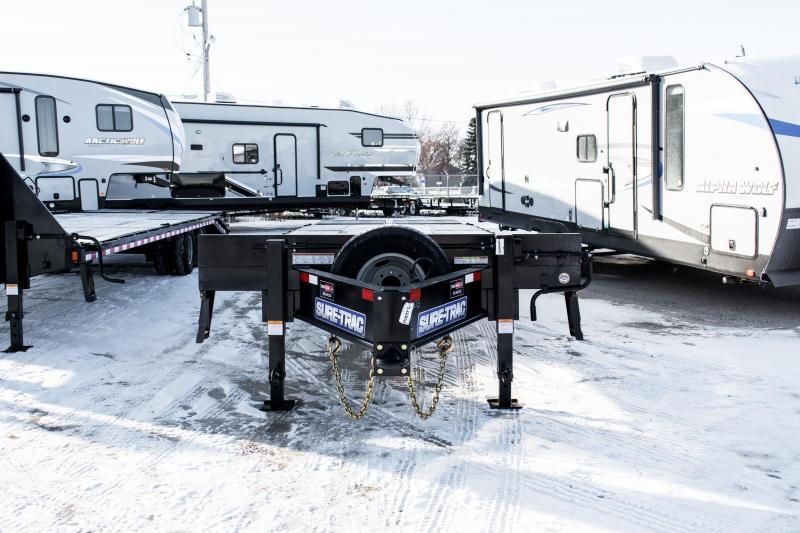 2020 Sure-Trac 8.5x25+5 Deckover Pintle Tandem 25.9K