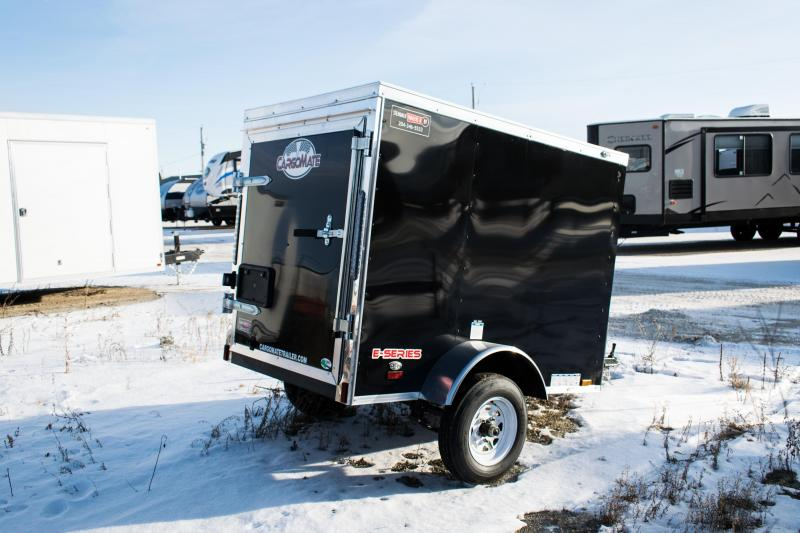 2020 Cargo Mate 4 x 6 Enclosed Cargo Trailer 3K Barn