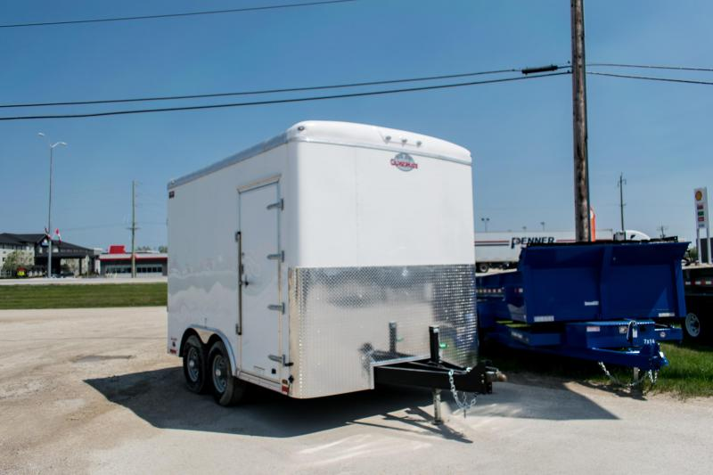 2019 Cargo Mate Blazer 8.5 x 12 Custom Enclosed Cargo Trailer 12K Ramp