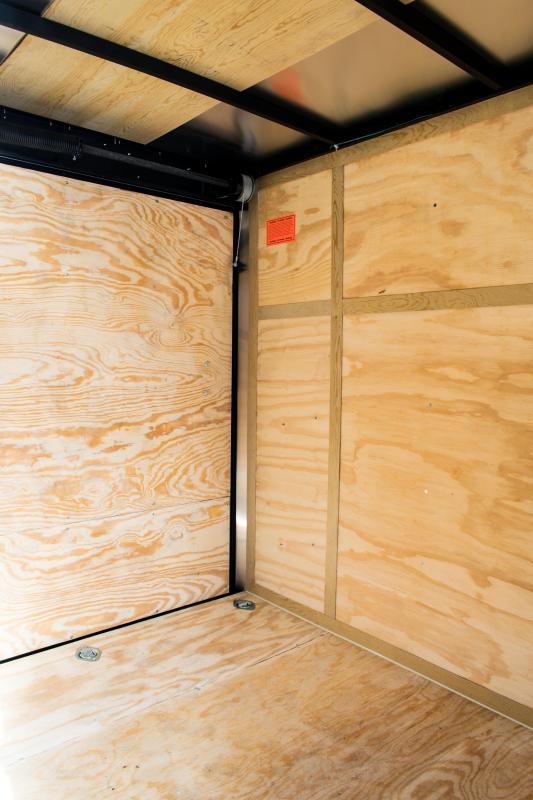 2020 Cargo Mate 5.5 x 10 Enclosed Cargo Trailer 3K Ramp