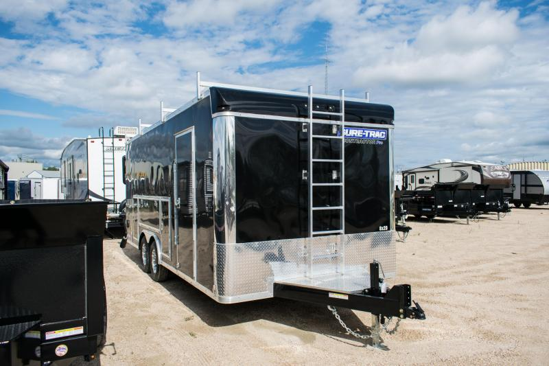 2020 Sure-Trac 8.5 x 20 Contractor Pro Cargo/Enclosed  TA 10K