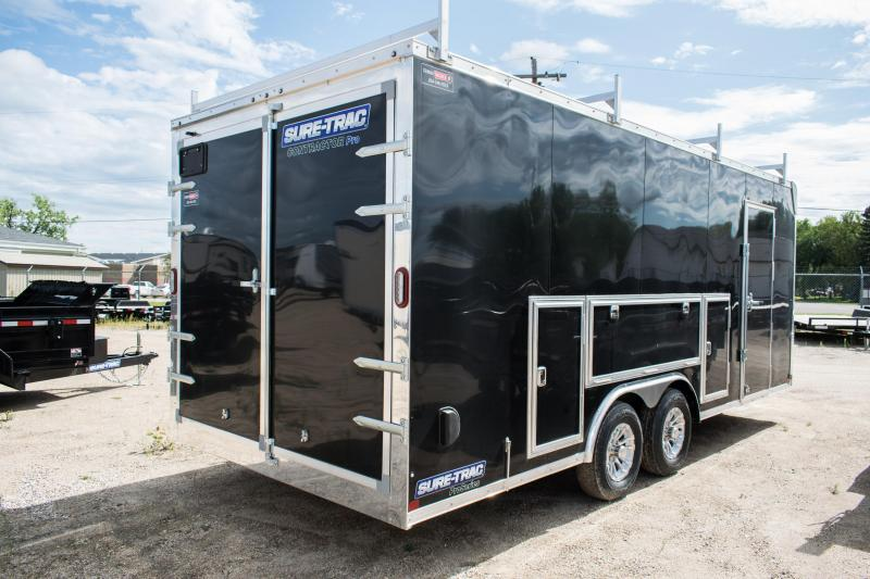 2020 Sure-Trac 8.5 x 20 Contractor Pro Cargo/Enclosed  TA 10K