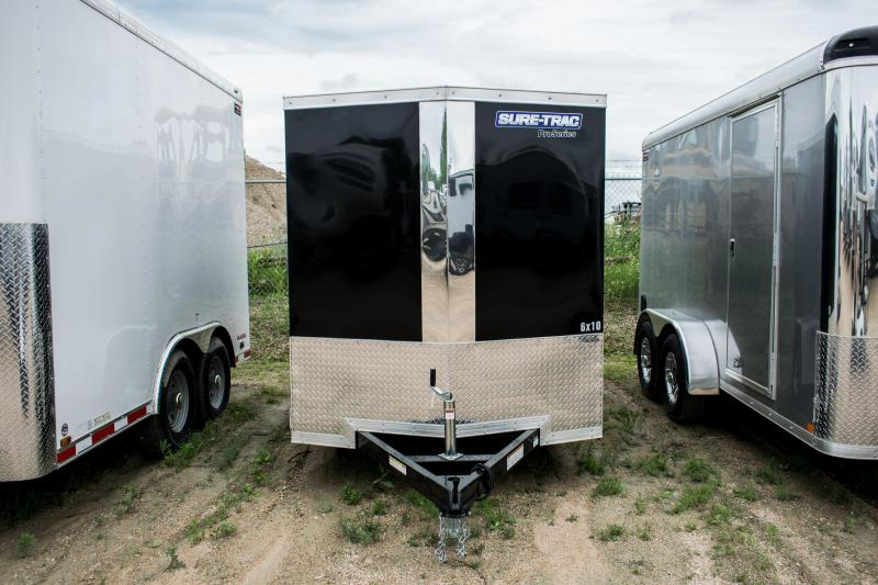 2019 Sure-Trac 6 x 10 Pro Series Wedge Cargo SA Ramp 3K