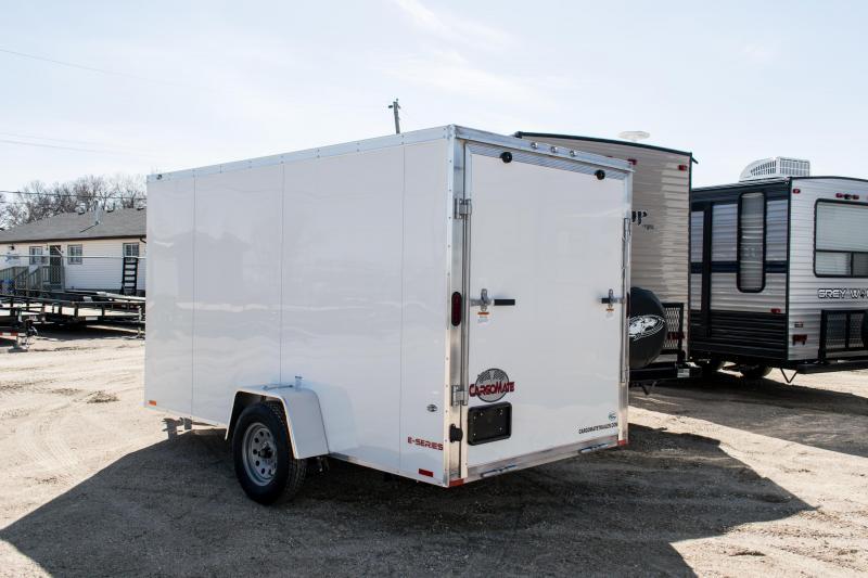 2020 Cargo Mate 6 x 12 Aluminum Enclosed Cargo Trailer 3K Ramp