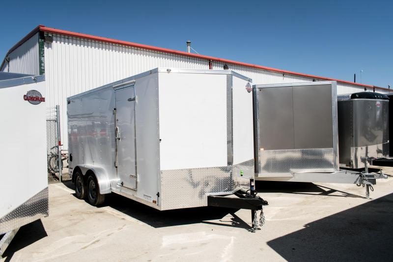 2019 Cargo Mate 7 X 16 Enclosed Cargo Trailer 7K Ramp
